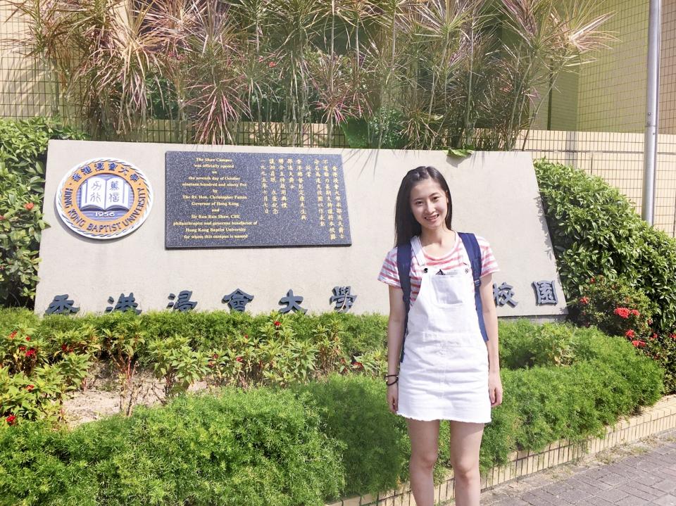 香港浸會大學 (文學院) 許卓雯同學