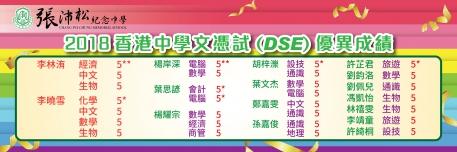 2018香港中學文憑試DSE 優異成績