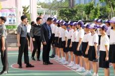 中一級制服團隊基礎步操訓練結業禮