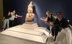 參觀《百物看世界─大英博物館藏品展》