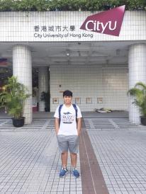 香港城市大學 機械及生物醫學工程系 王庭鋒同學
