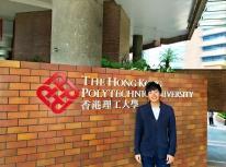 香港理工大學 物理治療系 許卓成同學