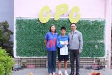 「中學校際游泳比賽」取得四項個人獎項