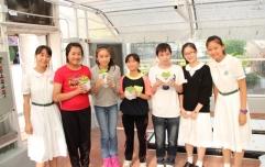 澳門濠江中學師生到訪本校參觀溫室種植