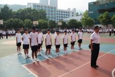中一級基礎步操訓練