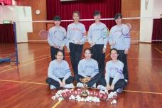 香港學界羽毛球比賽 亞軍(女子GRADE A)