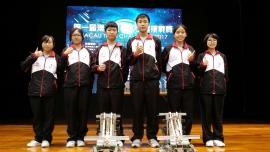 第一屆澳門機械人工程挑戰賽︰冠軍
