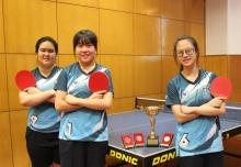 香港學界乒乓球比賽  季軍(女子Grade B)