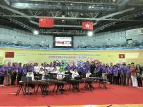 西貢區各界慶祝香港回歸祖國20周年︰古箏小組表演