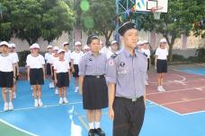 中一級制服團隊  基礎步操訓練結業禮