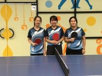校際乒乓球比賽第三組 女甲亞軍