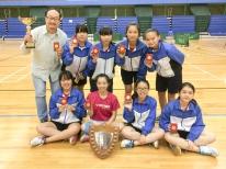 學界羽毛球 - 女子組DivisionIII Grade A︰冠軍