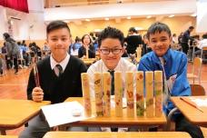 導師計劃,美術學會及家教會合辦──印花木筆筒製作