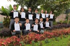 全國青少年語文知識大賽現場作文決賽季軍共12獎項